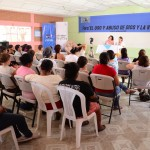 La actividad fue organizada por la Fundación Entre Mujeres