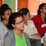 Al taller asistieron mujeres de distintos territorios del país.