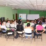 Las participantes compartieron sus inquietudes con la expositora.