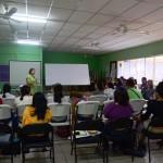 El taller fue facilitado por María Teresa Blandón.