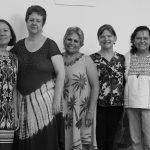Parte de las fundadoras de La Corriente...