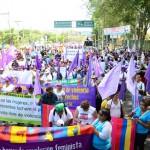 Una marcha colorida