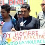 Jóvenes del Movimiento Nicaragüita en la marcha