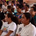 Mujeres de La FEM en la presentación