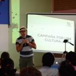 Oscar Acuña presentó la campaña Por una cultura laica