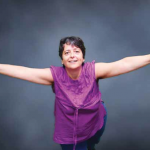Geni Gómez, feminista, luchadora incansable por los derechos de las mujeres.